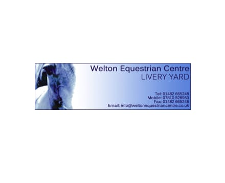 Welton Equestrian Centre